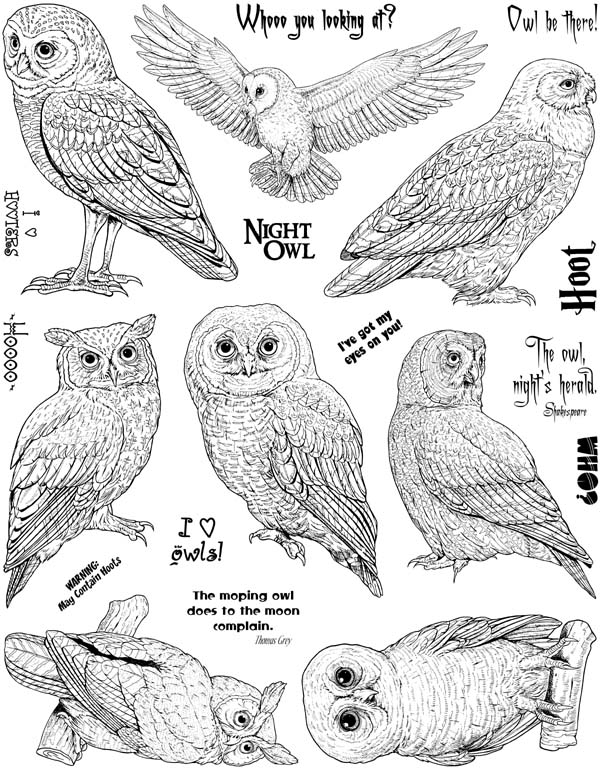redeowyn com unmounted rubber stamps